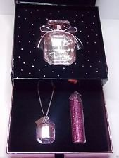 Victoria's Secret Bombshell Pink Diamonds EDP Gift Set with Necklace and Rollerball by Victoria's Secret