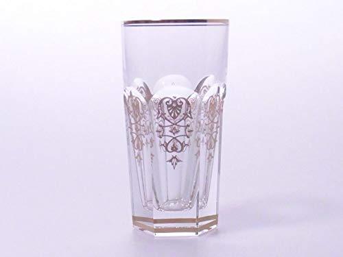 バカラ グラス ● エンパイア ハイボール タンブラー クリスタル 金彩 ゴールド 14cm Empire B07J5X57Q3