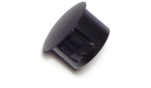 Hard-to-Find Fastener 014973169848 Black Hole Plugs 1//2-Inch