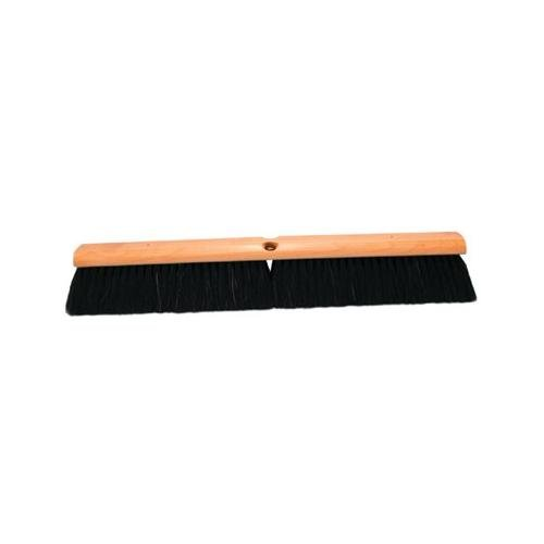 No. 7 Line Floor Brushes - 24'' floor brush w/m60 2d04b1d black horse