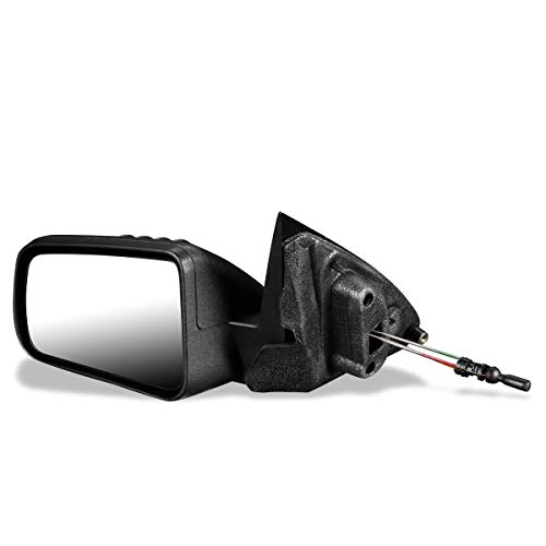 DNA MOTORING OEM-MR-FO1320330 FO1320330 OE Style Manual Driver/Left Side View Door Mirror for Ford Focus 08-11