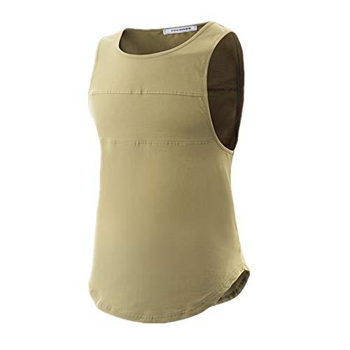 YOSHINEE Mens Tank Tops Athletic Sleeveless A-Shirt