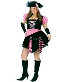 Pirate Pink Punk - Plus Size 1X - Dress Size (Pink Punk Pirate)