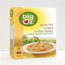 Big Oz Crispy Gluten-free Millet Flakes 350g