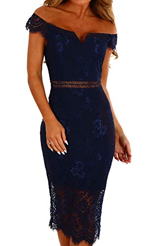 lace detailed bodycon dress - 1