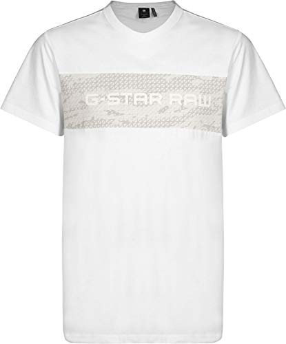 shirt 110 T bianco Raw uomo star Tairi Nero G awqwSd