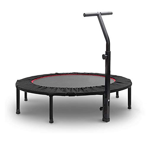 JDKC - 48-inch Mini-Fitness, Indoor Adult Trampoline Exercise Heart Fitness Entertainment, Suitable for Indoor Gardens with A Maximum Weight of 225kg Indoor Trampoline ()