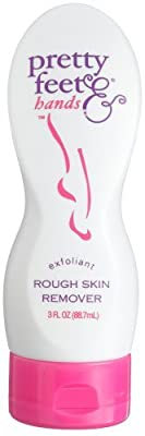 Pretty Feet & Hands Rough Skin Remover-Exfoliant, 3-Ounce Bottles