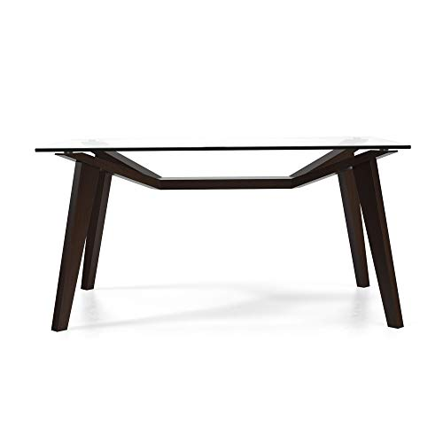 Aeon Furniture Lavinia Dining Table in Coffee Finish 6470-Coffee
