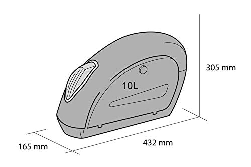 Paar Kawasaki Vulcan S je 10L+ Haltesatz Customacces AZ0261N Seitenkoffer Small EN650AGF 15-18