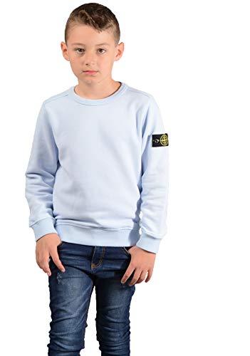6cec61a73 Stone Island Kids 60940 Sweatshirt in Sky Blue: Amazon.co.uk: Clothing