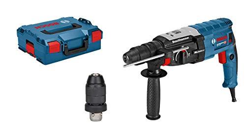 Bosch Professional GBH 2-28 F - Martillo perforador (3,2 J, max hormigon 28 mm, portabrocas SDS plus + cilindrico, en L-BOXX)