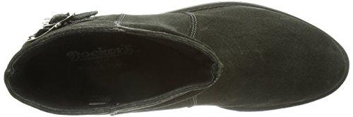 boots 024 Dockers Grau 141024 Women's Gray Unlined on 354041 Asphalt slip short length FYYqw7a4r
