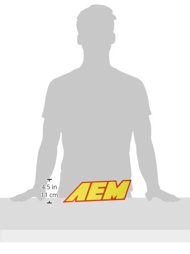 AEM 10-907 AEM Large Sponsorship Decal