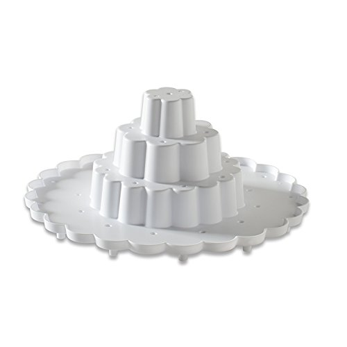 Nordic Ware Tiered Cake Pop Display Stand, White