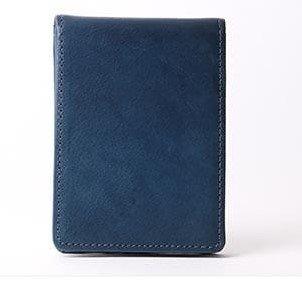 ティートアロンソ イタリアンレザー 極薄薄い軽い コインケース 小銭入れ Tito Alonso B078XG2VK9  ブルー