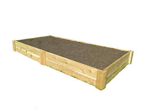 Infinite Cedar Raised Bed Garden Kit 4'x8'x11