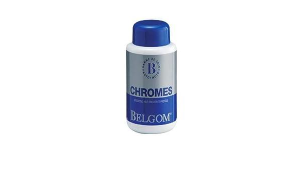 Belgom Polish - Crema para metales y cromo, limpia y elimina el ...