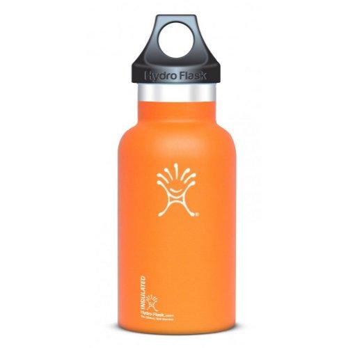 12 oz Hydroflask Water Bottle Orange, Outdoor Stuffs