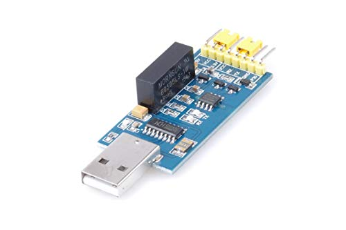 KNACRO Isolated USB to Serial Module Fully Isolated USB to TTL Isolated Serial Port CH340 FT232 ()