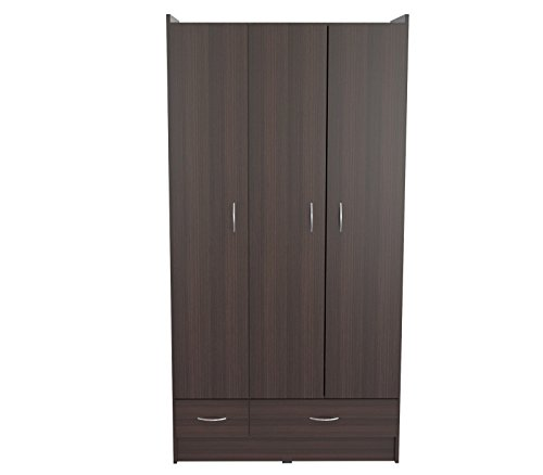 Inval AM-B623 Armoire, Espresso-Wengue by Inval