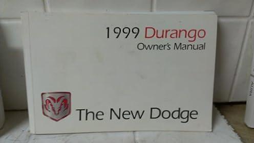 dodge durango 1999 owner s manual chrysler corporation amazon com rh amazon com 1999 dodge durango owners manual free download 2000 Dodge Durango