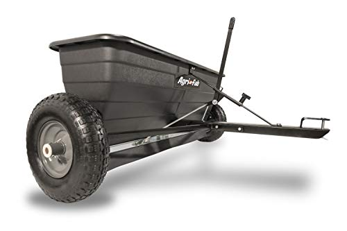 Agri-Fab 45-0288 175-Pound Max Tow Behind Drop Spreader, Black (Best Riding Mower For 5 Acres)