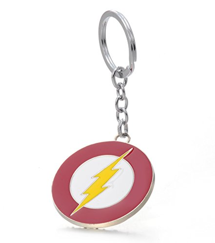 REINDEAR DC Comics THE FLASH Lightning Bolt Justice League Barry Alle Metal Keychain US Seller