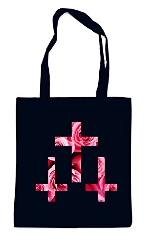 Roses Crosses Crosses Black Bag Crosses Roses Crosses Black Bag Roses Bag Black qrwtOr8