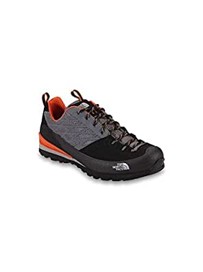 The North Face Verto Plasma Walking Shoes - TNF Black Zion Orange - UK 8.5