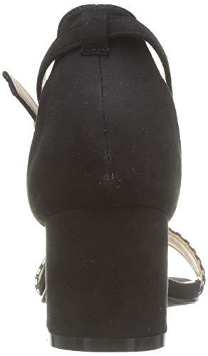 Noir noir Femme Cheville The 001 Bride Divine Natalia Factory Sandales TWxfqwO08q