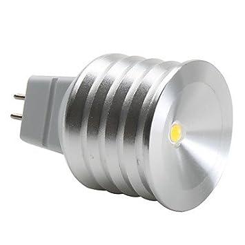 Mr16 90-100lm 3000K blanco cš¢lido de luz LED 12v bombilla: Amazon.es: Hogar