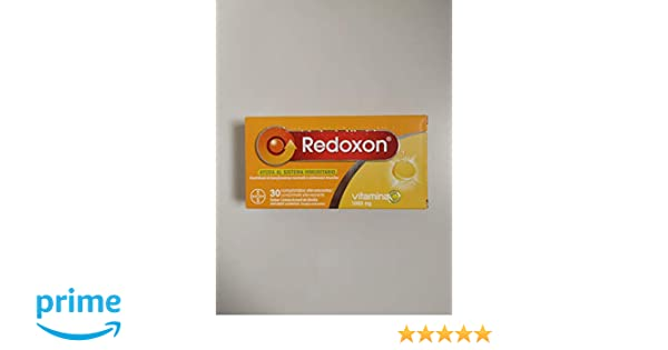 BAYER Redozon vitamina c 1000 mg efervescentes 30 com limon: Amazon.es: Salud y cuidado personal
