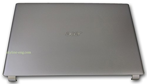 Acer Aspire V5-531 V5-571 Back Cover Rear Lid Silver Non-Touch 60.M1PN1.004