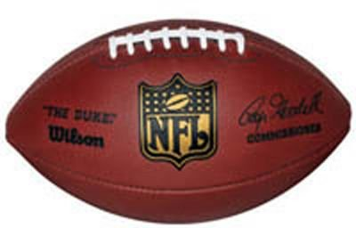 efa2f45304c Image Unavailable. Image not available for. Color  NFL Wilson Authentic Duke  Leather Game Football