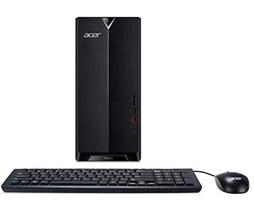 Acer Aspire TC-885 Desktop, 8th Gen Intel Core i3-8100, 8GB DDR4 + 16GB Optane Memory, 1TB HDD, 8X DVD, 802.11ac WiFi, Windows 10 Home (Renewed)