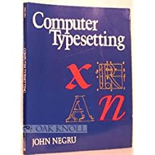 Computer Typesetting