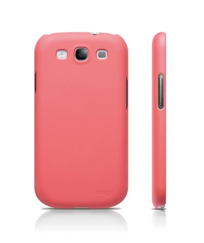elago G5 Slim Fit Case for Verizon/AT&T/T-Mobile/Sprint Samsung Galaxy S3 - Eco Pack - Soft Feeling Italian Rose