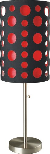 red and black lamps - 5