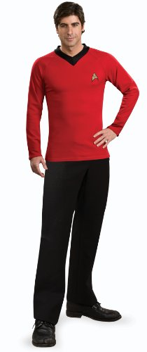 Rubie's Classic Star Trek Deluxe Scotty Adult Costume Shirt, Large -