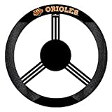 Fremont Die MLB Baltimore Orioles Poly-Suede Steering Wheel Cover