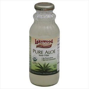 Org Aloe - LAKEWOOD JUICE ALOE PURE ORG, 12.5 FO by Lakewood