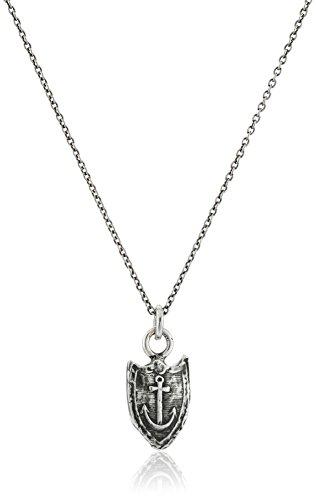 Pyrrha Unisex Unshakeable Sterling Silver Petite Talisman Pendant Necklace