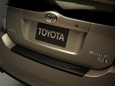 - Prius Rear Bumper Protector (2004-2009) Toyota OEM