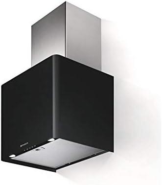 Faber Lithos - Campana extractora de Pared (45 cm), Color Negro Mate: Amazon.es: Grandes electrodomésticos