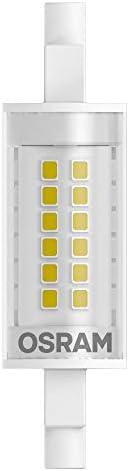 OSRAM LED SLIM LINE R7S Confezione da 10 x LED LINE R7S, Tubo LED: R7s, 17.50 W = Equivalente a 150 W, Bianco Caldo, 2700 K, Chiaro, Taglia Unica