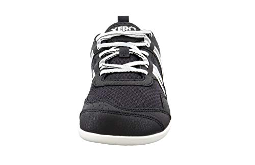 Xero Shoes Prio - Men's Minimalist Barefoot-Inspired Trail and Road Running Shoe - Fitness, Athletic Zero Drop Sneaker Black/White by Xero Shoes (Image #3)
