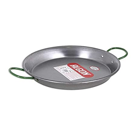 Algon S2200306 Paellera, Stainless Steel: Amazon.es: Hogar