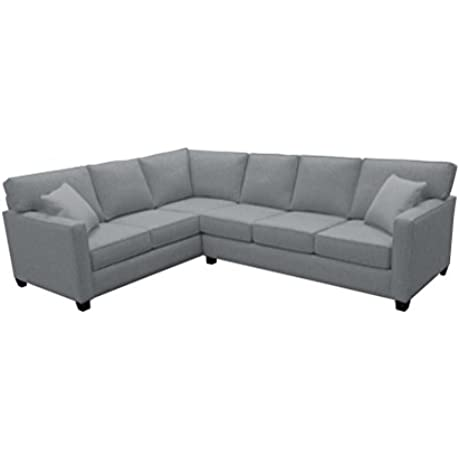 Canwick Large L Sectional Left Facing Key Largo Pumice