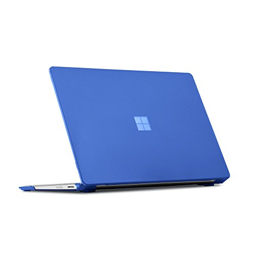 Shell Folio (iPearl mCover Hard Shell Case for 13.5-inch Microsoft Surface Laptop Computer (NOT compatible with Surface Book and Tablet) (Blue))